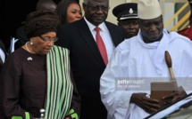 GAMBIE: Yahya Jammeh en partance  pour Conakry