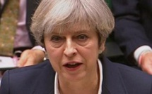 Royaume-Uni: Theresa May officialise le Brexit devant les députés à Westminster