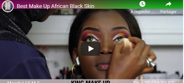 Best Make Up African Black Skin